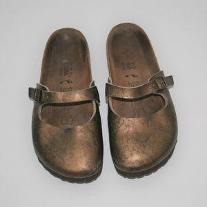 Birkenstock Leather Sandals 41 Narrow L 10 M 8
